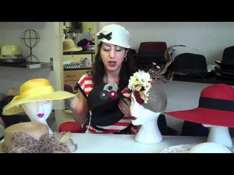 Women s Dressy Hats - YouTube 73a322e2e17