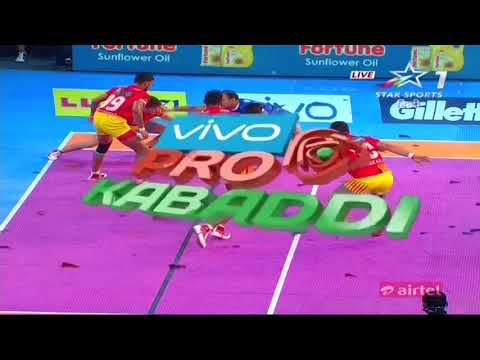 Gujarat FortuneGiants vs Haryana Steelers: Season 5, Match 3