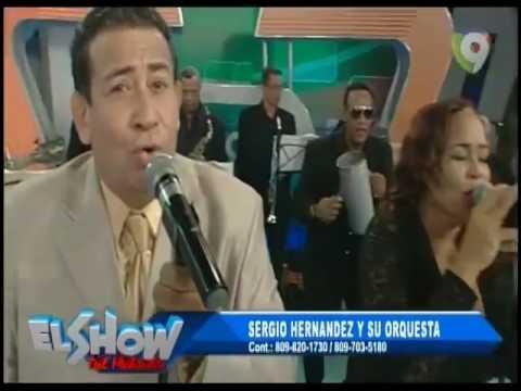 Sergio Hernandez y su Orquesta ponen a bailar a todos El Show del Mediodía