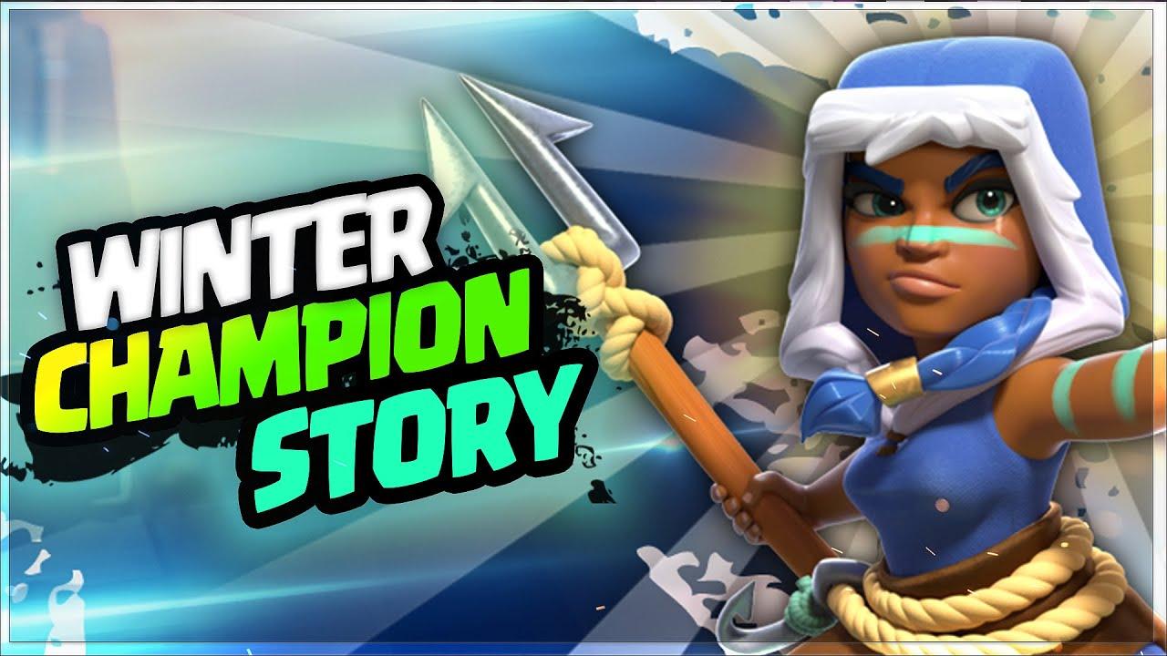 """WINTER CHAMPION"" Story  in Hindi   वह  Ice kingdom कैसे पहुंची ? Clash Stories Episode  116"