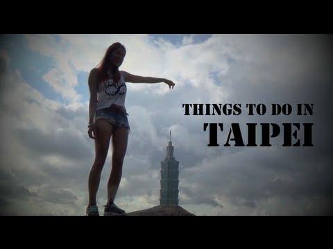 Vlog #5: Things to do in Taipei [Foodlog, Clubbing