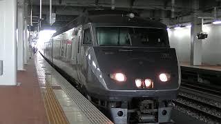 【JR九州】787系特急かもめ 博多駅発車
