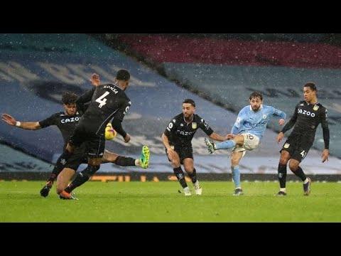 HIGHLIGHTS | Man City 2-0 Aston Villa
