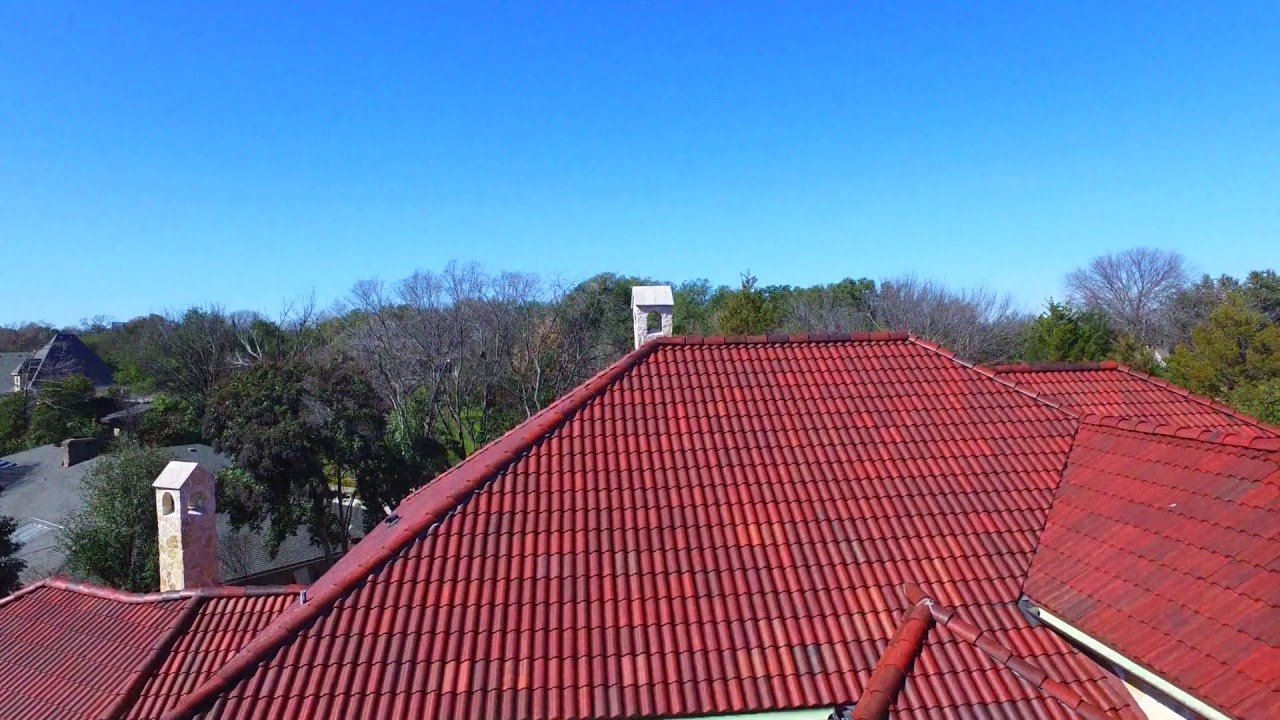 Beautiful Spanish Tile Roof   Brava Synthetic Spanish Barrel Tile Roofing