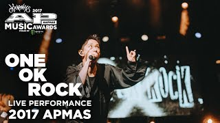 Video APMAs 2017 Performance: ONE OK ROCK with special guest JOHN FELDMANN! download MP3, 3GP, MP4, WEBM, AVI, FLV November 2017