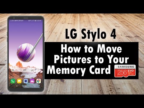 LG Stylo 4 How To Move Pictures To Your Memory Card | H2TechVideos