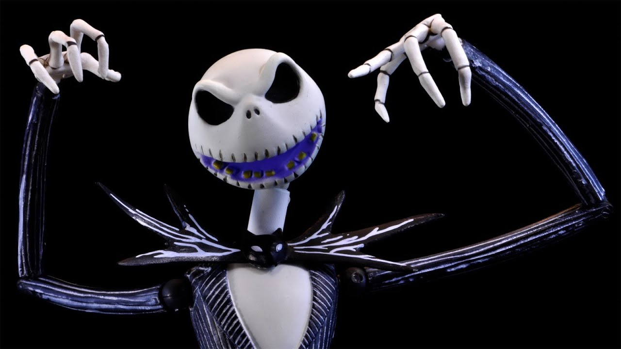 Revoltech Jack Skellington Review ( From Kaiyodo's Sci-Fi ...