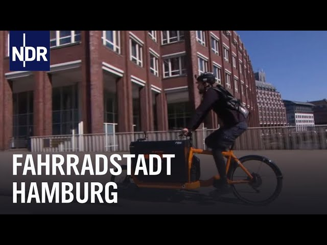 Reupload: Wie geht das? Fahrradstadt Hamburg | Die Nordreportage | NDR Doku