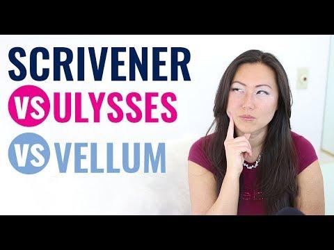 Scrivener Vs Vellum Vs Ulysses - Best Writing Tools // Best Software For Writing Your Book - Mac