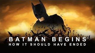 Как должен был закончиться Бэтмен: Начало