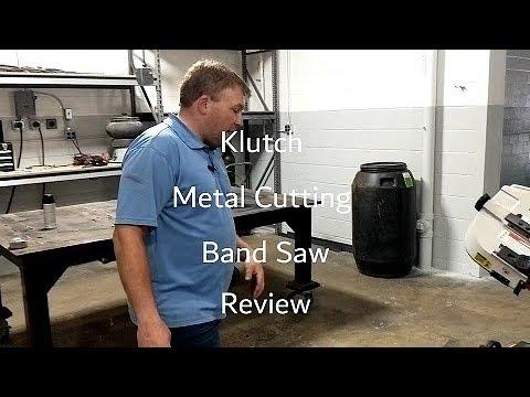 "Klutch 7"" x 12"" 1.5 HP Horizontal & Vertical Metal Cutting Band Saw Review 2019"