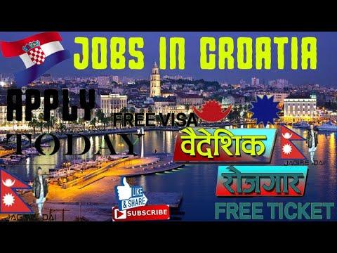 New Job in Croatia  ll Croatia पाइने काम !! Croatia jobs ll