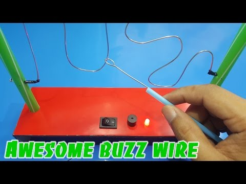 Awesome buzz wire game for kids