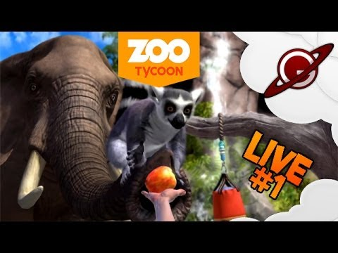 Zoo Tycoon | Direct Live #1: Création du Zoo Galaxien !
