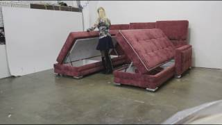 Угловой диван поворотный трансформер 3 в 1  Оскар П (8 964 510 67 47)(, 2017-03-12T19:51:29.000Z)