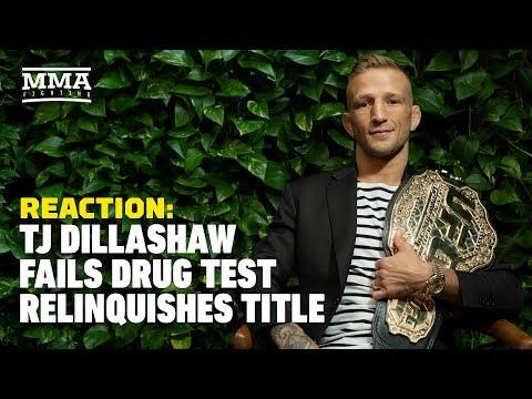 T.J. Dillashaw Fails Drug Test, Vacates UFC Title Reaction - The A-Side Live Chat