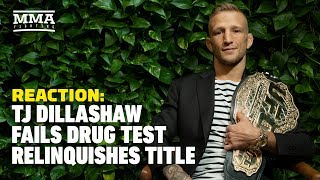T.J. Dillashaw Fails Drug Test, Vacates UFC Title Reaction - The A-Side Live Chat