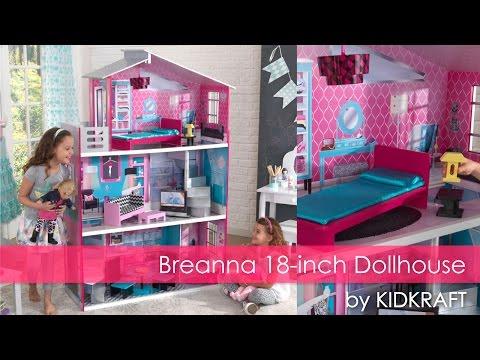 Girl's Pink Breanna18-Inch Dollhouse - Toy Review