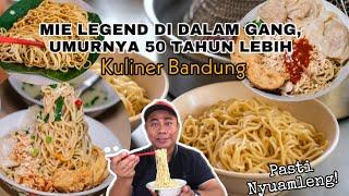 MIE LEZAT GANG LUNA   MIE LEGEND KOTA BANDUNG SUDAH GENERASI KE-3 #kulinerbandung