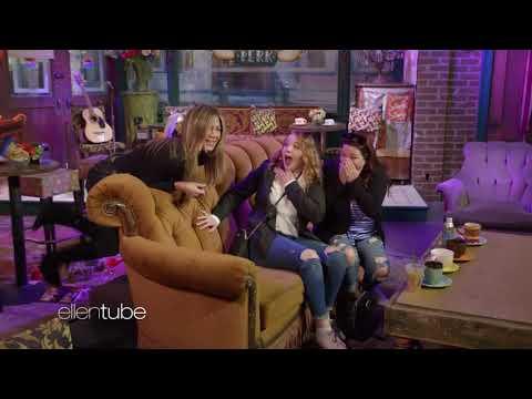 Jennifer Aniston Scares Guests At Central Perk Set | Warner Bros  Studio Tour Hollywood