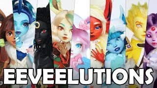Eeveelutions Overview: Afterthoughts, More Photos & Artwork! thumbnail