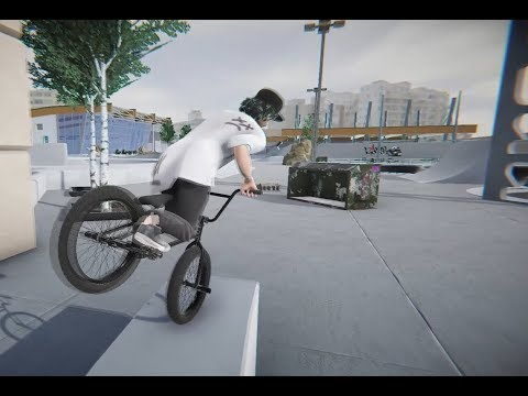 Teku BMX Streets Pipe - 21 - The Community Center Evolved