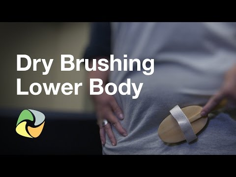 Dry Brushing Lower Body