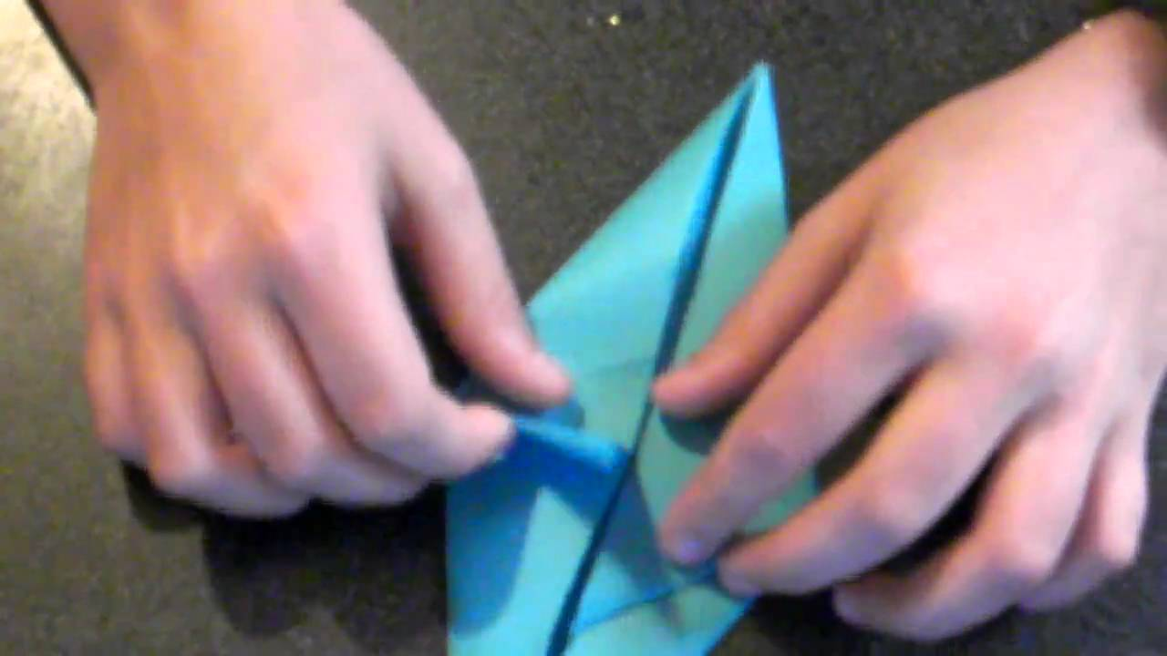 How To Make An Origami Shark Youtube Diagram