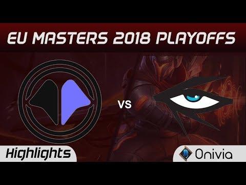 MIL vs IHG Highlights Game 3 EU Masters Playoffs 2018 Millenium vs Illuminar Gaming By Onivia