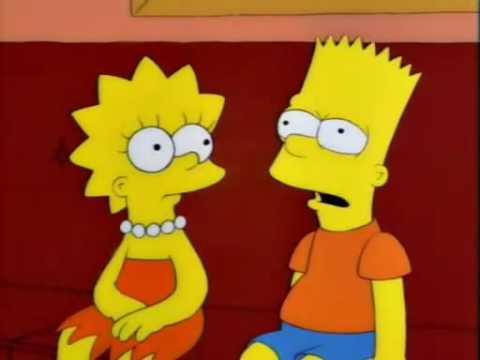 Bart Simpson familiarizado con la obra de Neruda