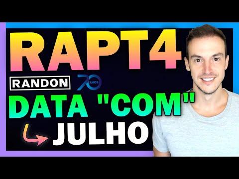 RANDON: SMALL CAP RAPT4 DIVULGA DATA COMPRA DIVIDENDOS