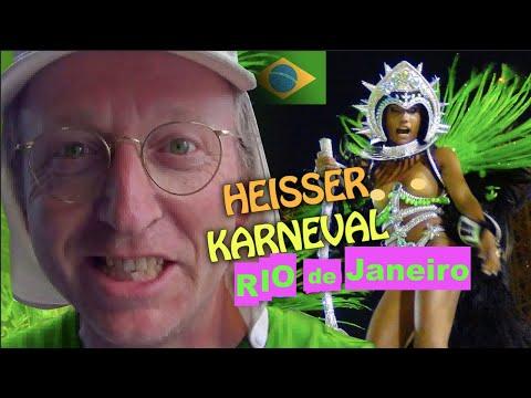 Hot Samba Carnival Parade Sambódromo Rio de Janeiro - Mega Party Show Part 2