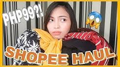 MURANG DAMIT SA SHOPEE?! Shopee Haul 2019 (Philippines)