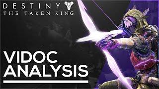 Destiny: The Taken King - ViDoc Analysis