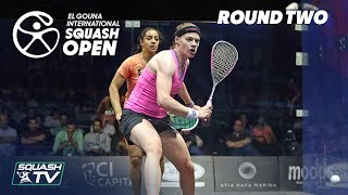 Squash El Gouna International 2018 - Womens Rd2 Round Up P2