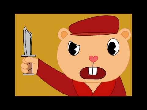 """""""Flippy's Problem with Pop Trolling"""" (Happy Tree Friends fan animation)"""