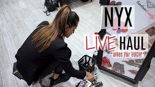 Nyx LIVE Haul I IHR ENTSCHEIDET, Ich Kaufe ! I September 2017 I mit Kimwood I tamtambeauty