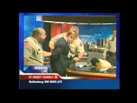 "Nick Beres ""Arrest"" On NewsChannel 5"