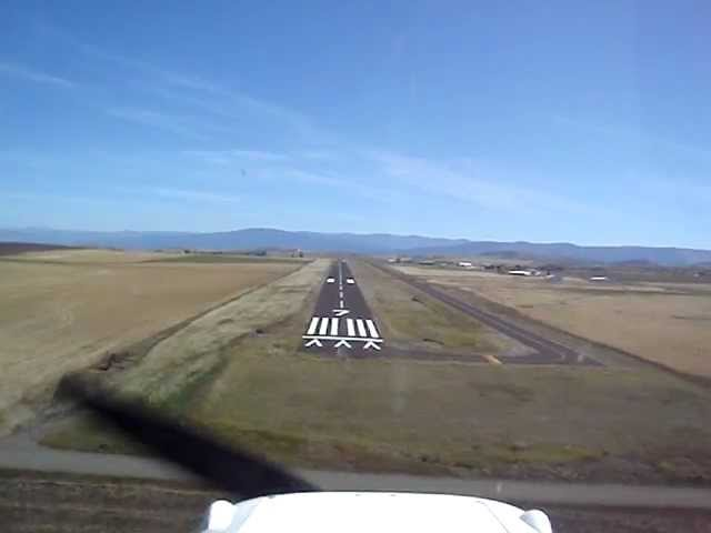 Landing at Grangeville, ID - GIC