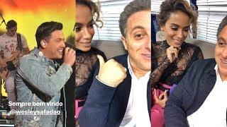 Baixar Luciano Huck gravando com Anitta e Wesley Safadão
