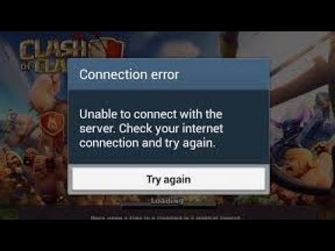 How To Fix Clash Of Clans Connection Error