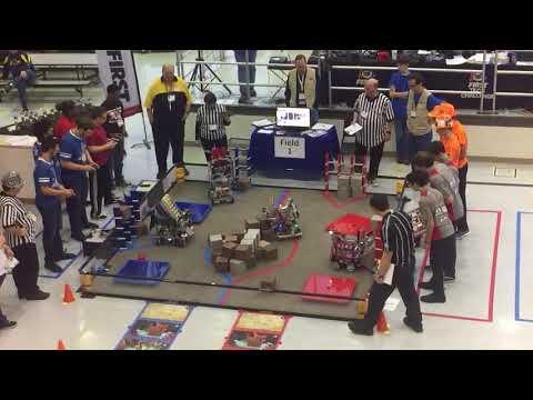 York Country Day School Gearhounds & Metal Works robotics team  - Final Round