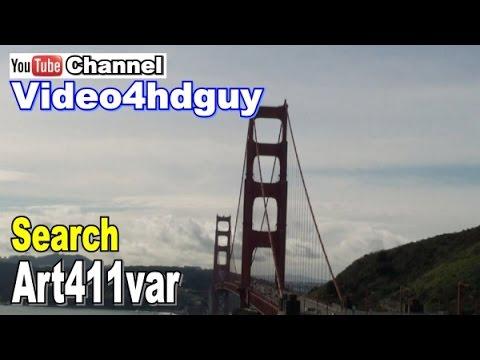 Skyline San Francisco  HD  Screensaver peaceful , relaxing, music soundtrack Video Art. | art411var™
