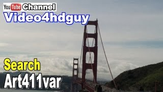 skyline san francisco hd screensaver peaceful relaxing music soundtrack video art   art411var