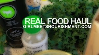 Real Food Haul