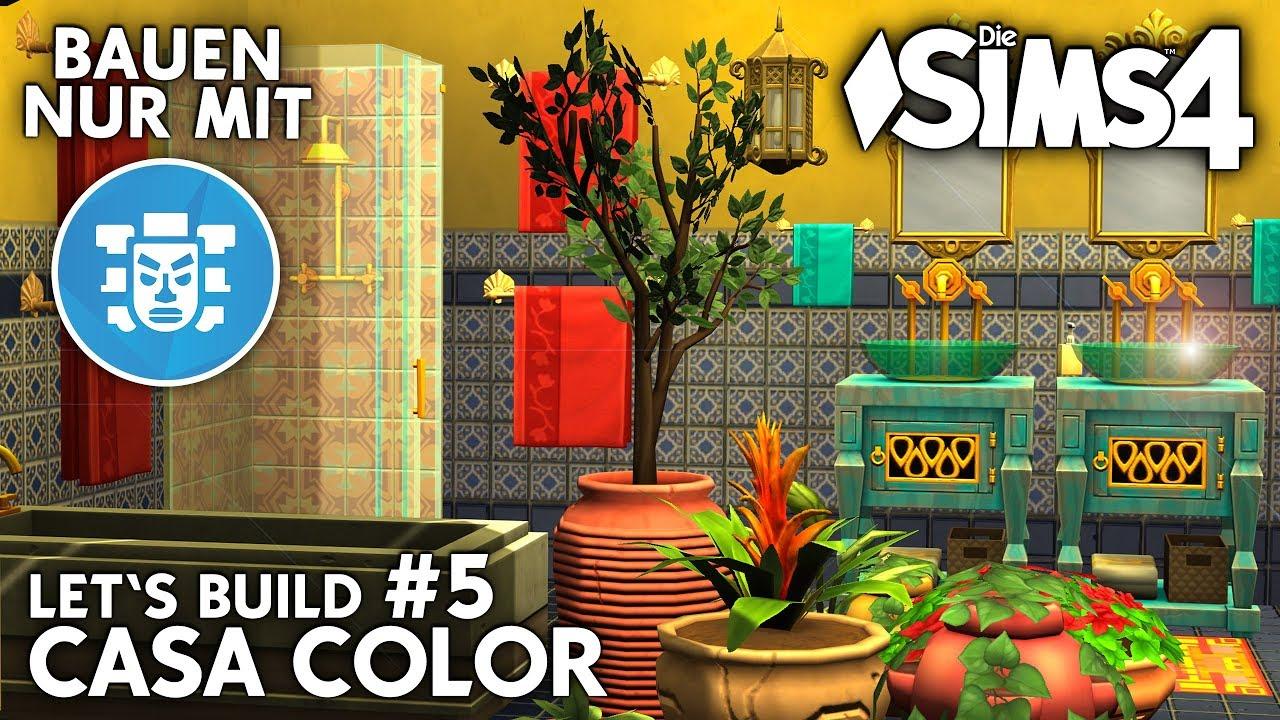 die sims 4 haus bauen casa color 5 bad kleinkinder zimmer deutsch youtube. Black Bedroom Furniture Sets. Home Design Ideas