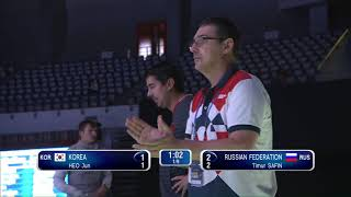 2018 Wuxi World Championships - MF Team 3rd Place KOR vs RUS