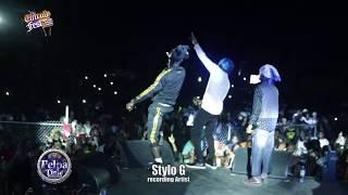 الإبرة ز رقم واحد ضرب أغنية خلق موجات في جامايكا في مهرجان المشاغبين