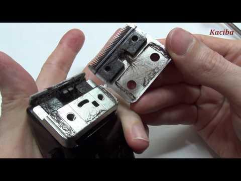 MOSER Primat 1230, частичная разборка, чистка, сборка и настройка ножей
