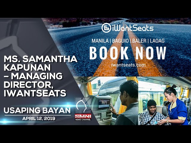 MS  SAMANTHA KAPUNAN – MANAGING DIRECTOR, IWANTSEATS